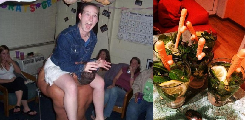 След като видите тези СНИМКИ никога няма да пуснете жена си на моминско парти!