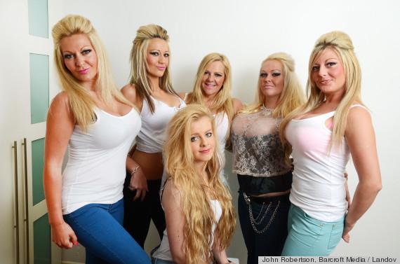 Майка и 4 дъщери