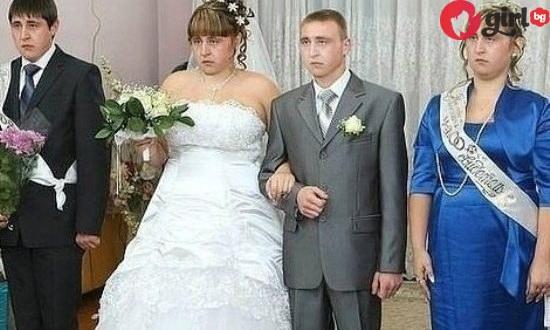Руска сватба- осмото чудо на света, а тези снимки го доказват (много смях)