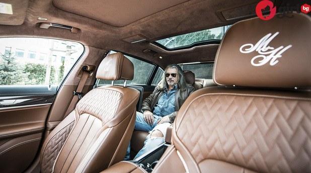 Новата кола на Маги Халваджиян