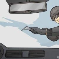Как да размразим предното стъкло на колата за по-малко от минута - СУПЕР ТРИК!