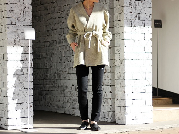【HOLIDAY】THERMAL PRO FLEECE GOWN
