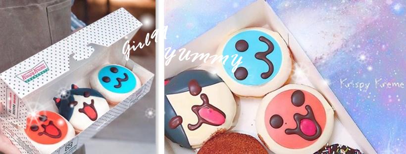 美國連鎖甜甜圈「Krispy Kreme」x 太鼓達人 推出限定甜甜圈!兒時回憶立刻湧現~好吃又好拍!