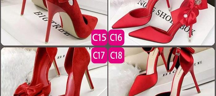選一雙喜歡的紅色高跟鞋?測以後是你養他還是他養你?