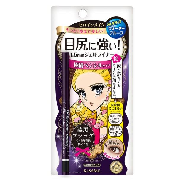 KISSME花漾美姬 一筆耀眼極細眼線膠筆 01黑 NT330_包裝