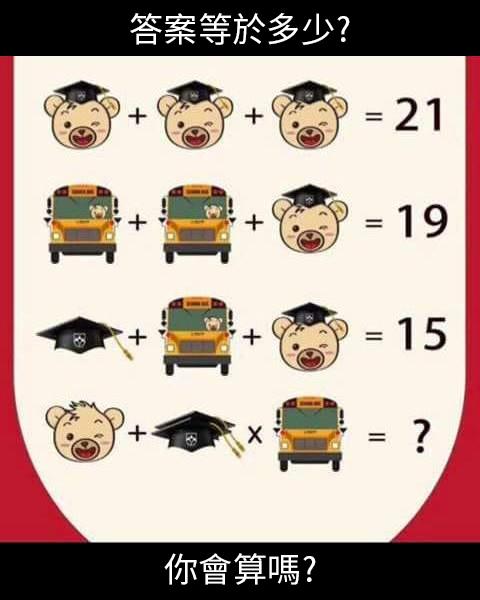 249_答案等於多少,你會算嗎_主圖