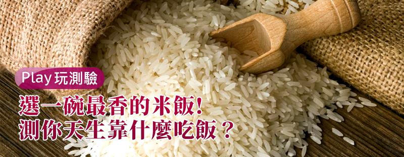 【個性心理測驗】選一碗最香的米飯!測你天生靠什麼吃飯?