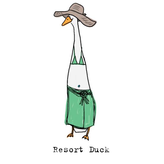 Resort duck