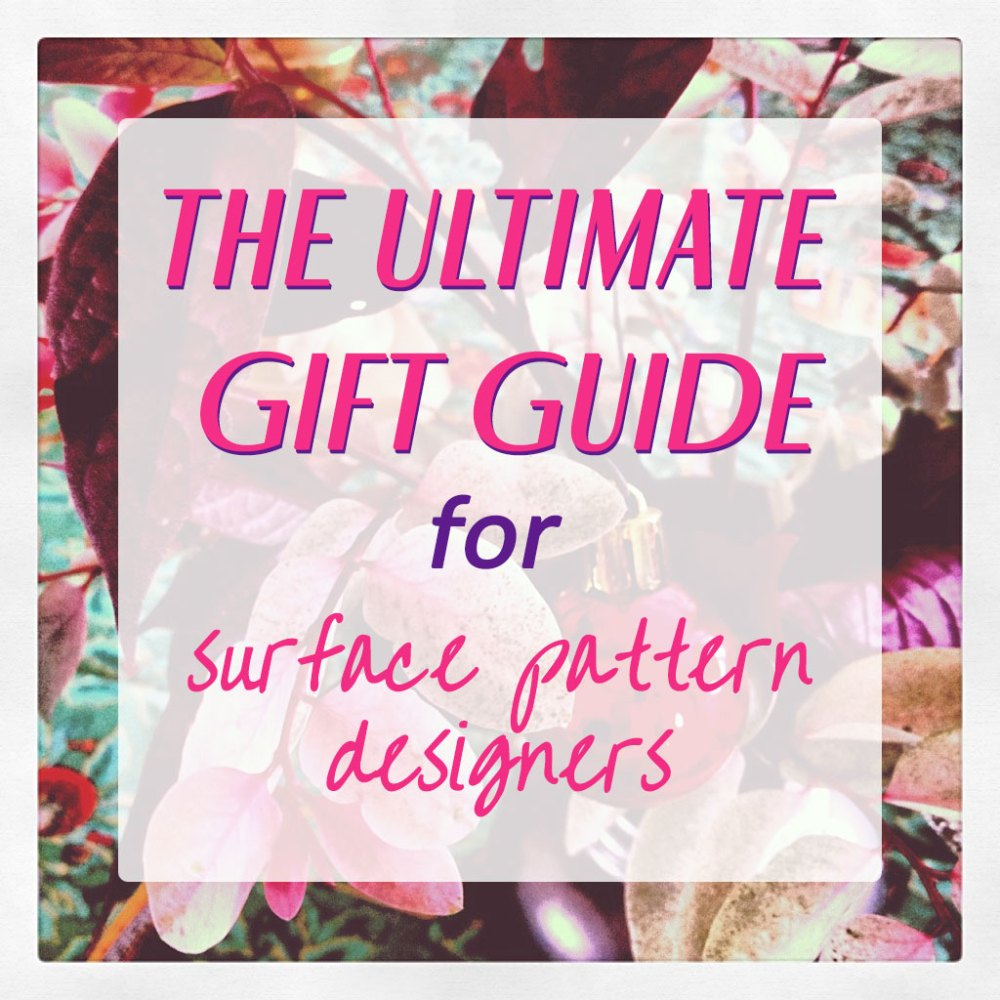 gift guide surface pattern designers