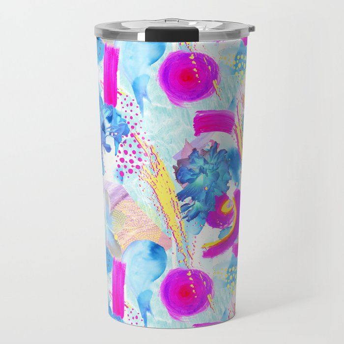 new Society6 shop tropical gifts Girl and the Deep Blue Sea