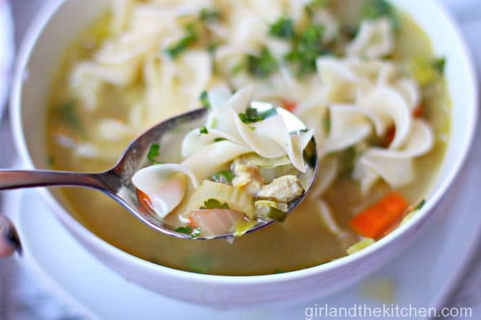 Fast Chicken Noodle Soup-FEATURE 036