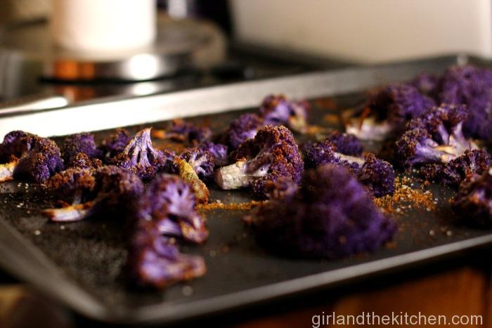 Garlic and Parmesan  Oven Roasted Cauliflower