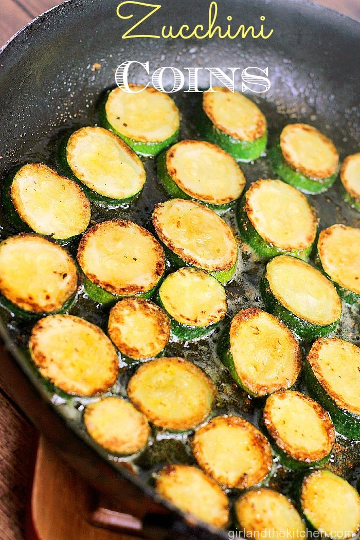 Zucchini Coins from the Girl and the Kitchen