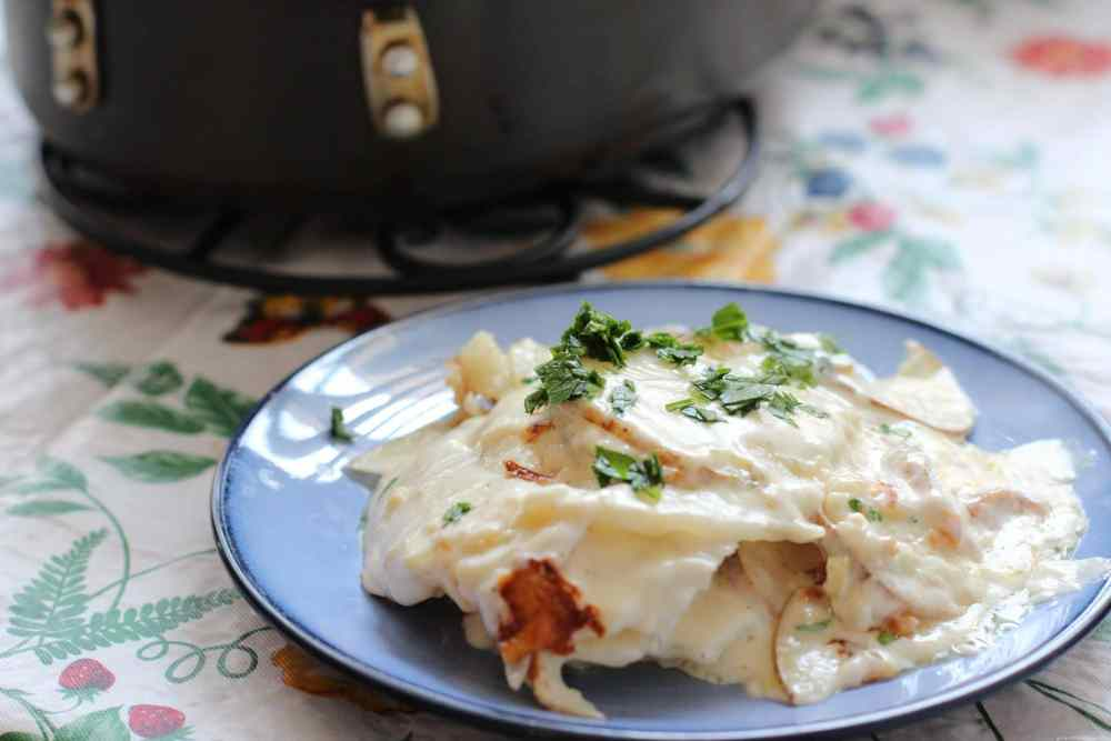 Pommes Dauphinoise RecipePommes Dauphinoise Recipe. Girl and the Kitchen