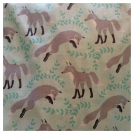 Fox Crib Sheets