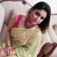 Bangladeshi Hot & Sexy Boobsy Real Life Bhabi 'Rima Jamal Khan' Shari Photo