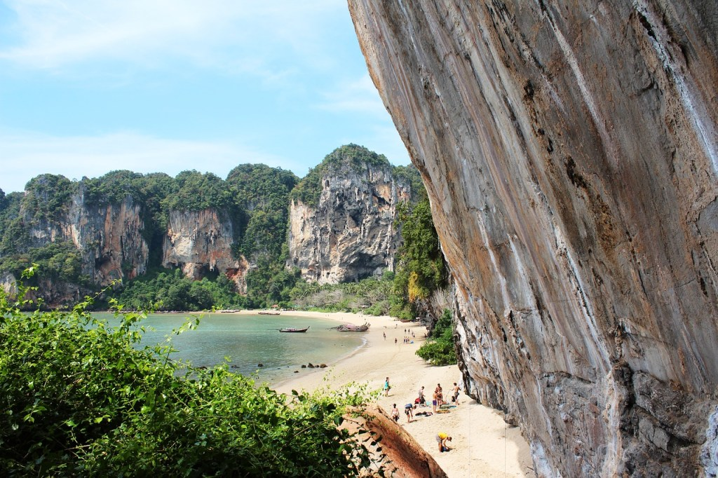 Koh Phi Phi has the best rock climbing in Thailand.