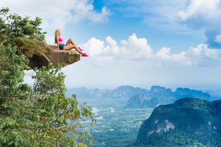 Here are the best places to go rock climbing in Thailand.