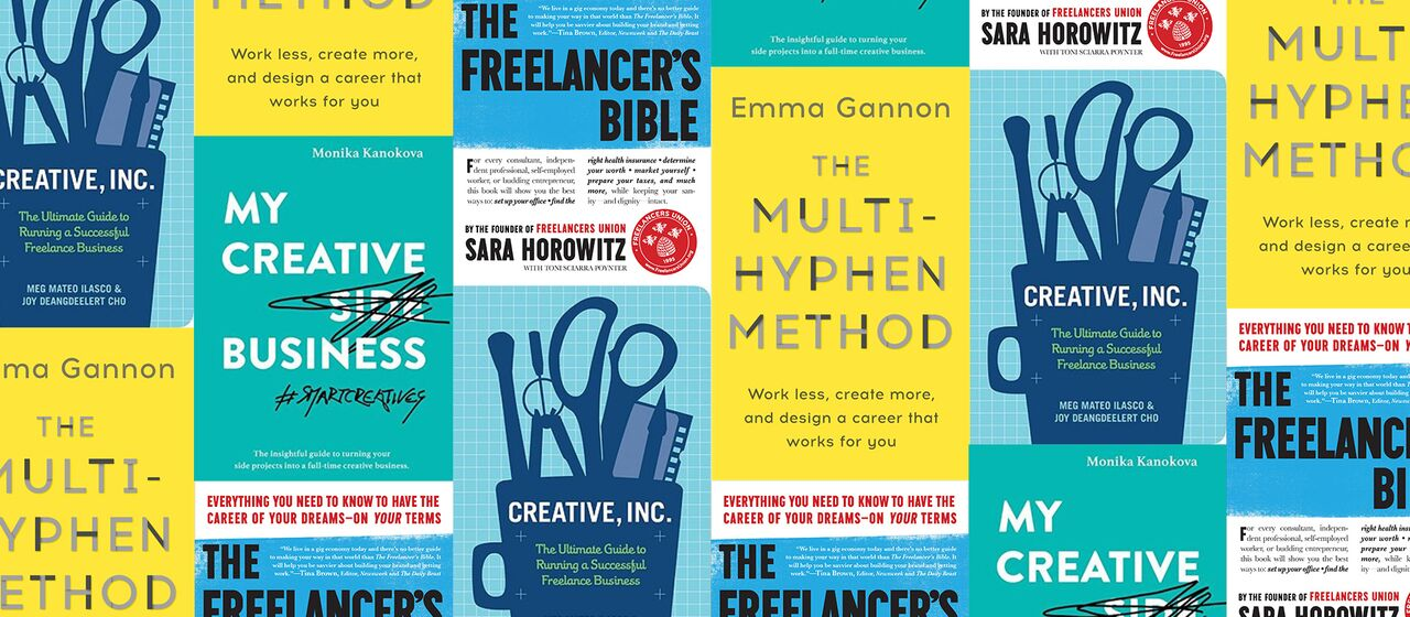 4 Books You Need To Read If You're Self-Employed (Or Want To Be)