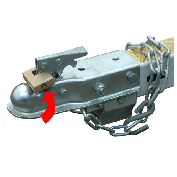 A pin lock installed on your coupler is another deterrent for would be thieves.