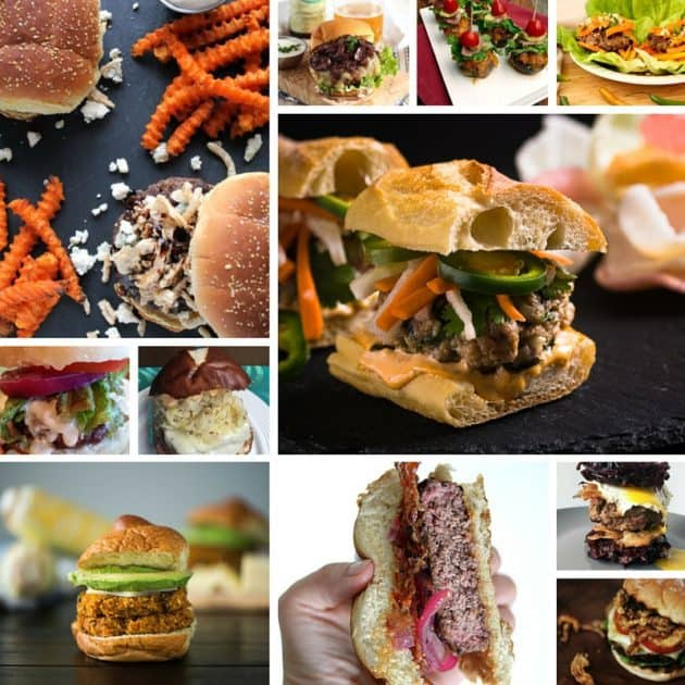 Burger Month - A month long celebration of burgers with killer recipes and giveaways!