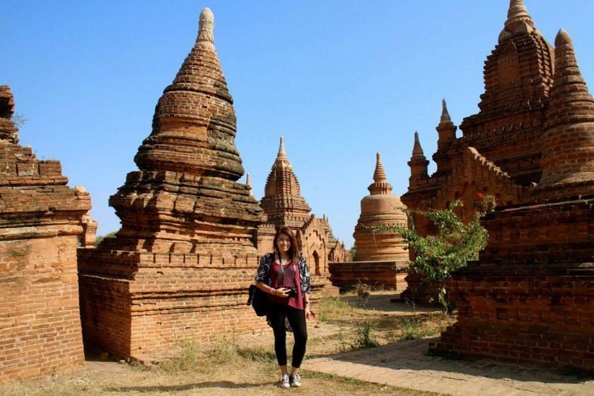 Me in Bagan, 2015