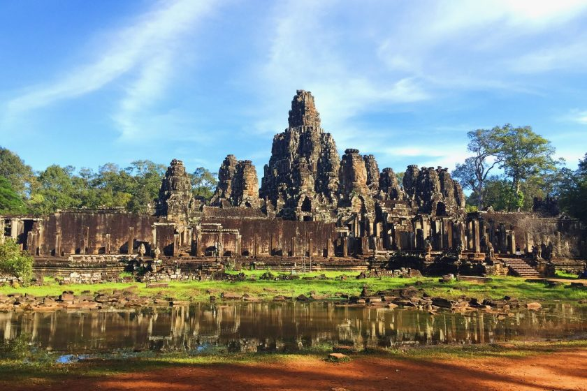 A temple in Angkor Wat Complex