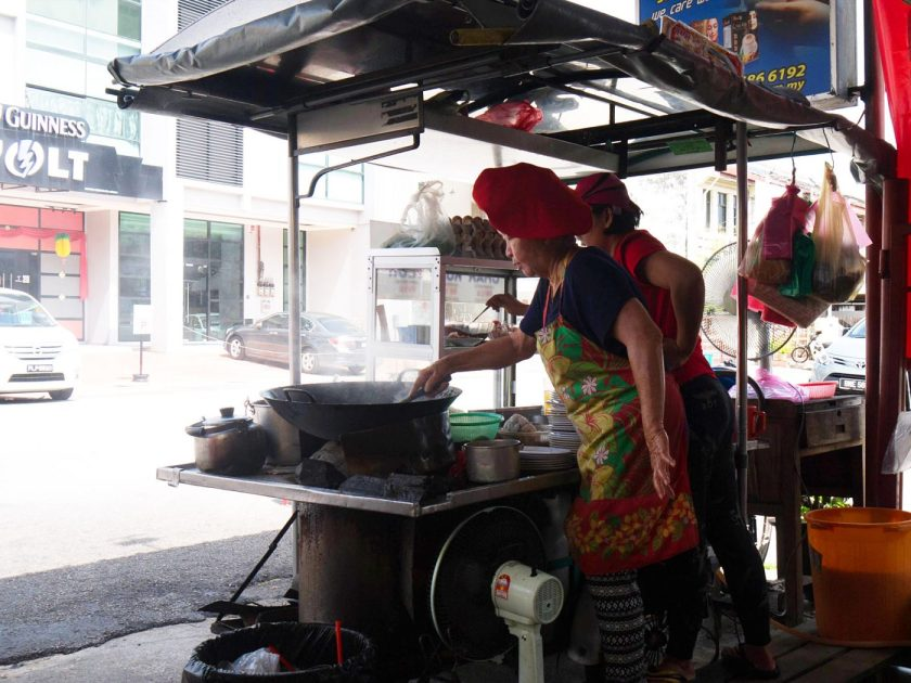 Red Hat Auntie at Lorong Selamat