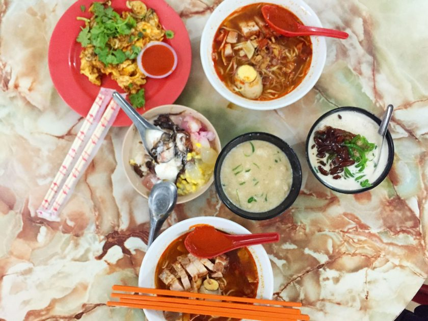 Hokkien Prawn Mee at Lebuh Presgrave