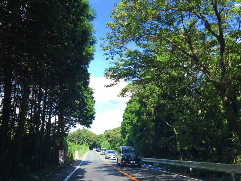 Driving to Daikanbo