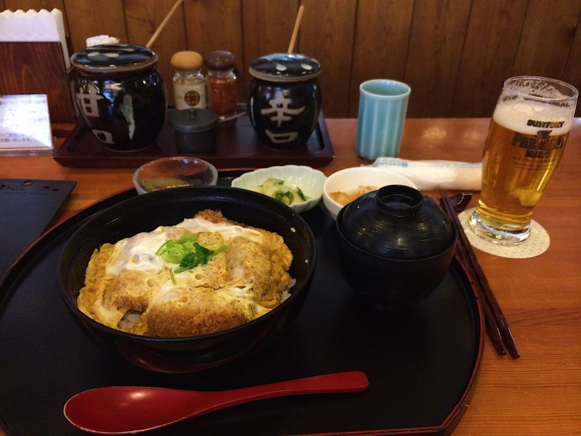 Kurobuta Cutlet Rice bowl at Maisen Tonkatsu