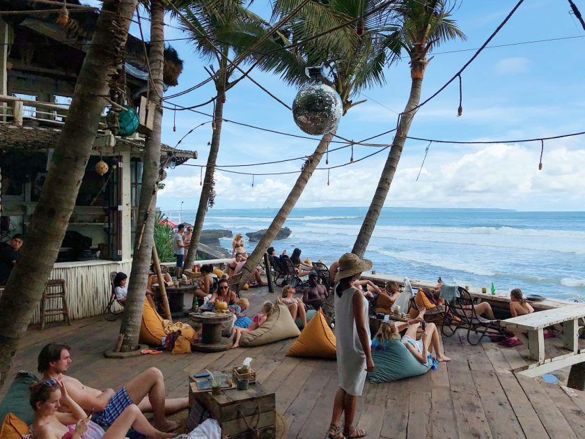 La Brisa Beach Club in Canggu