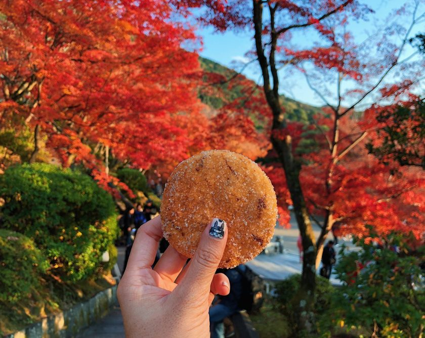 Zarame Senbei at Kiyomizu-dera