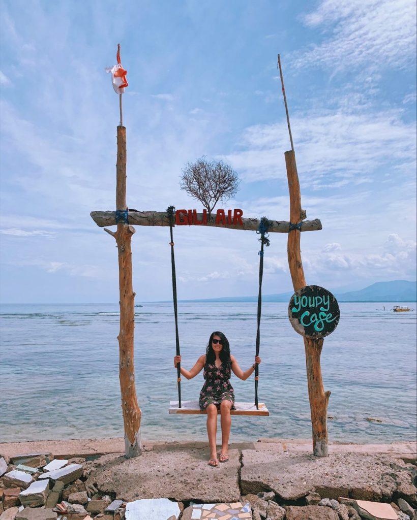 Swings at Gili Air