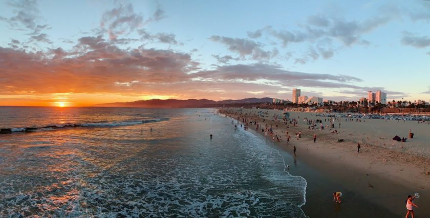 Sunset at Santa Monica