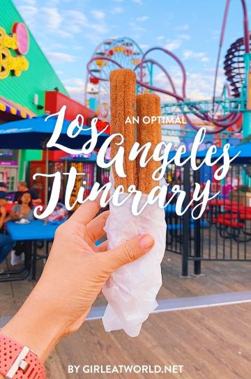 Los Angeles Itinerary