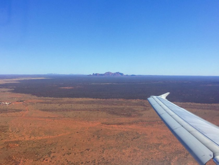 Kata Tjuta from above