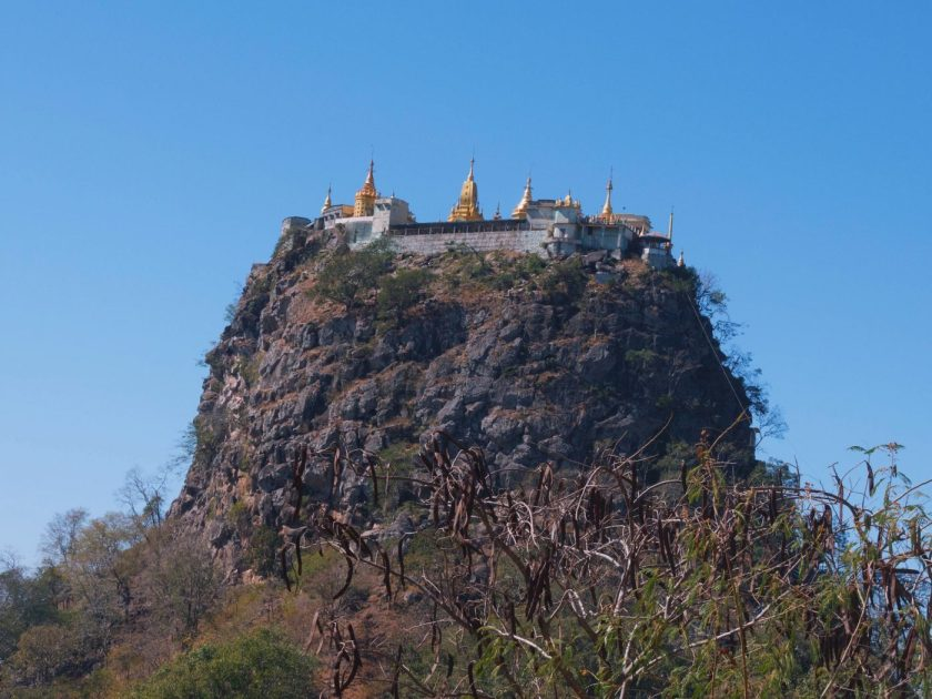 Buddhist Monastery on top of Taung Kalat