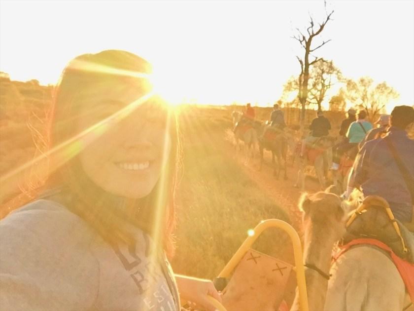 Uluru Sunrise Camel Tour