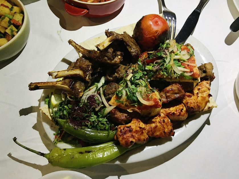 Mixed Grill Mains at Fakhreldin