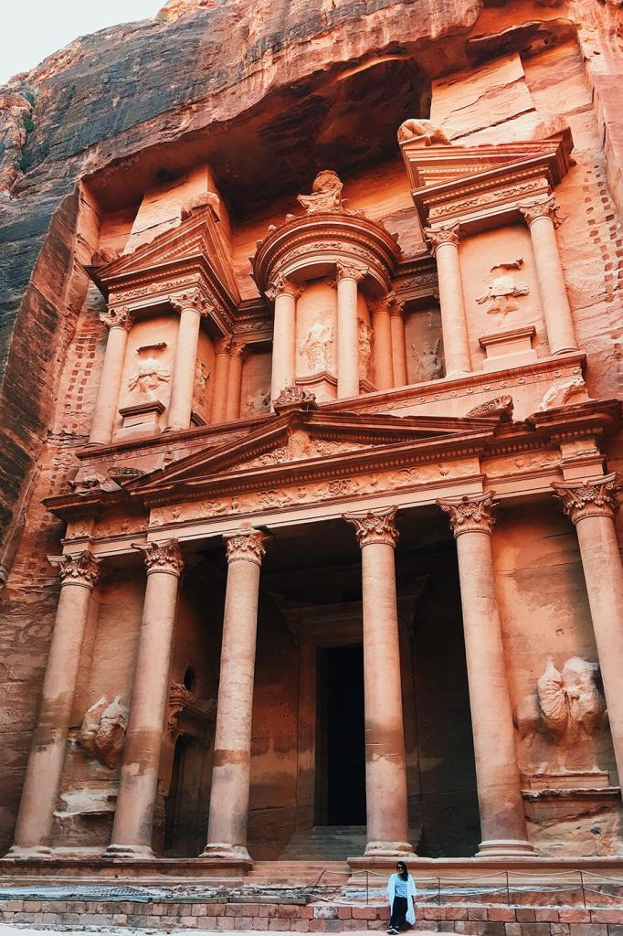 Probably my favorite picture of 2016 - At the Treasury in Petra