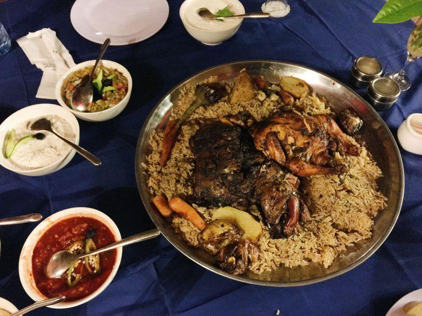 Zarb - Bedouin BBQ cooked underground