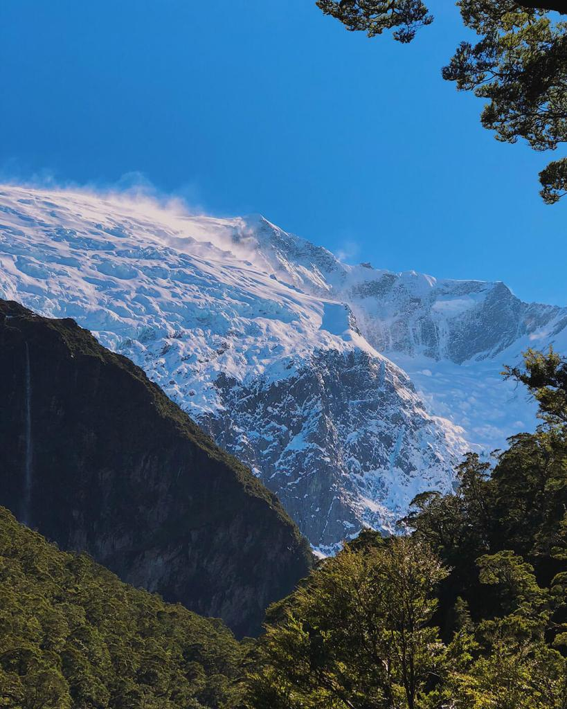 Rob Roy Glacier from the Lower Lookout