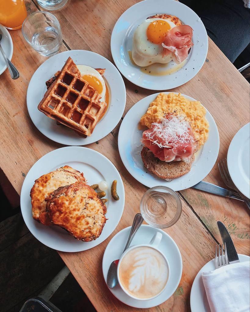 Breakfast at Buvette Paris
