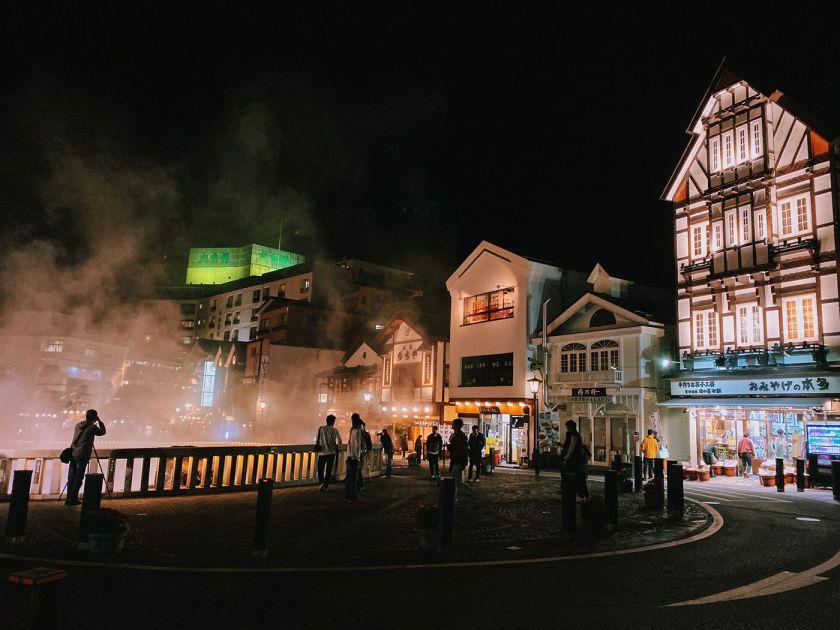 Yubatake at Kusatsu