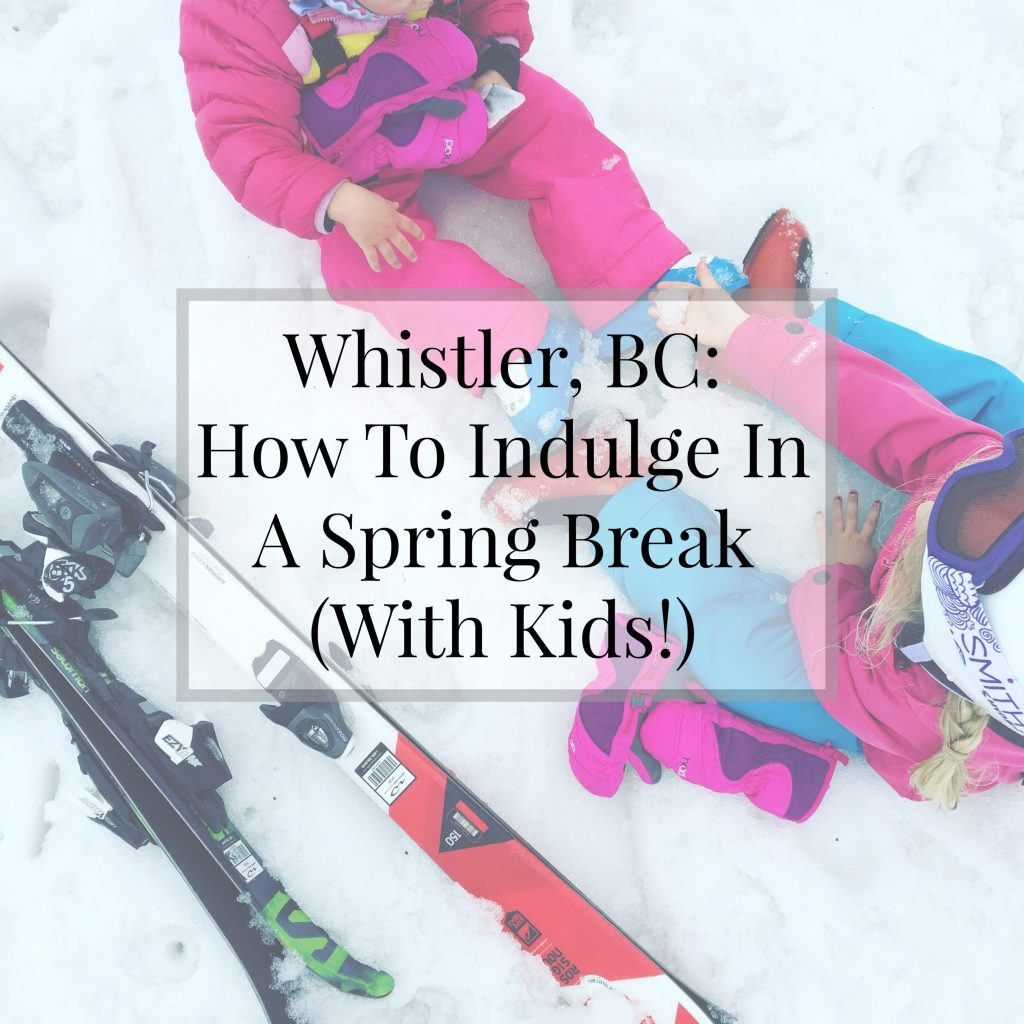 Whistler With Kids