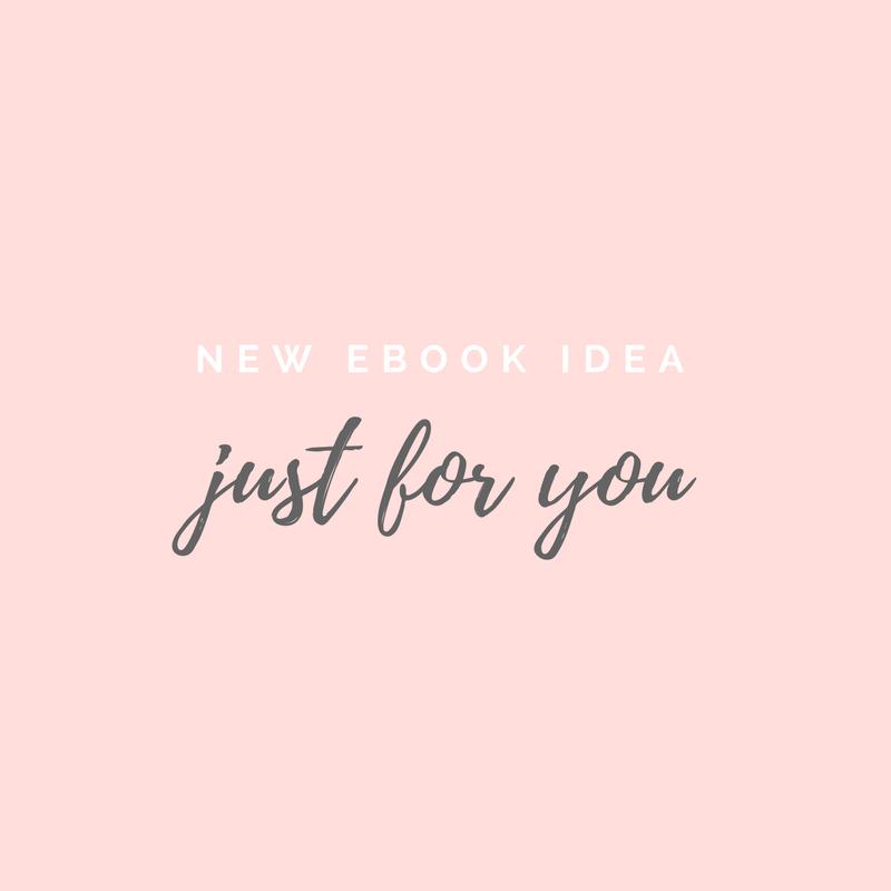 New Ebook Idea
