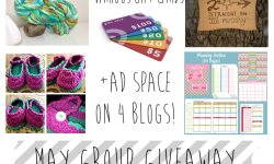 Group Giveaway Ends May 29.