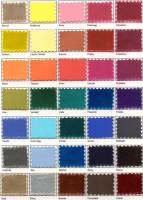 dyeable shoes| color swatch