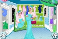 Elsa Pregnant Shopping